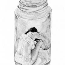bottled-woman