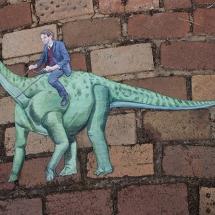 man-dinosaur-overall